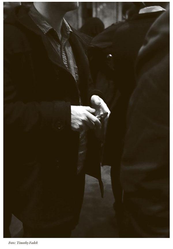 En man. Foto Timothy Fadek