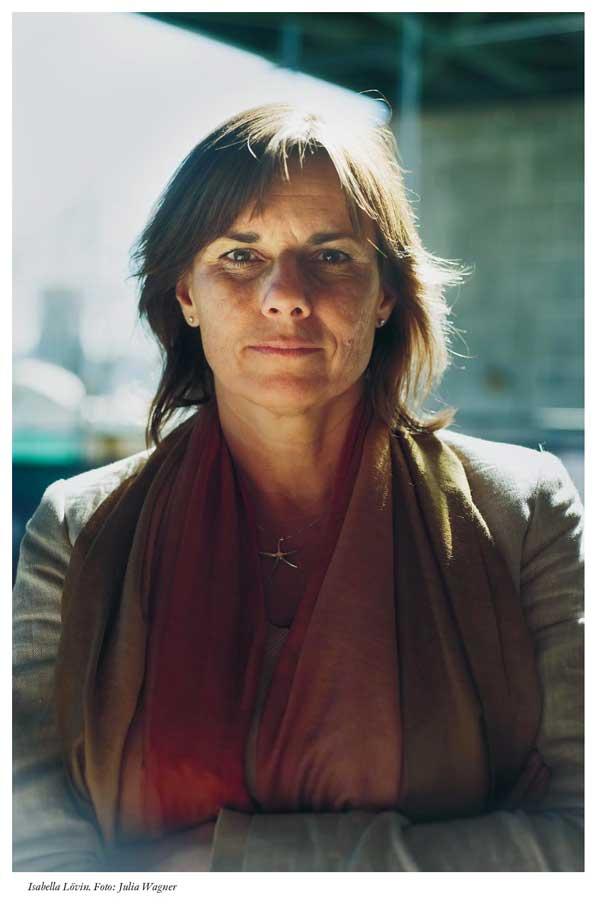 Isabella Lövin. Foto Julia Wagner