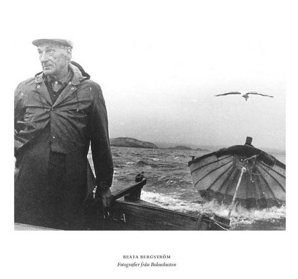 En man vid havet. Foto Beata Bergström
