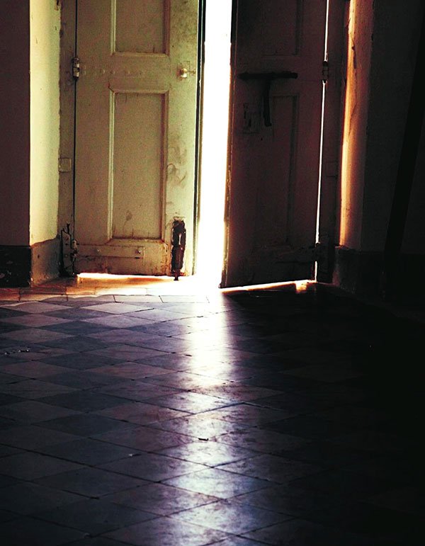 Dörröppning