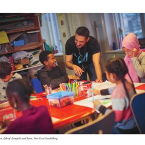 Nykomsten - Hos barnen i ateljén på Barnkulturcentrum i Nyköping