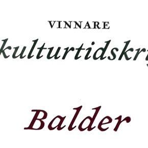Balder - Årets kulturtidskrift 2020