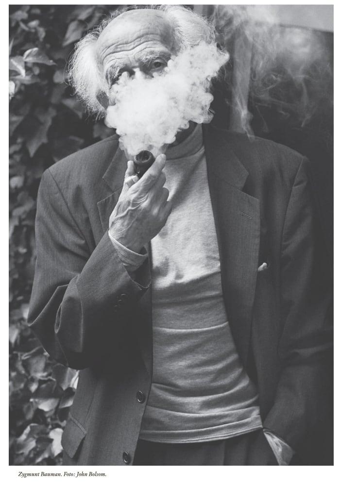 En bild på Zygmunt Bauman